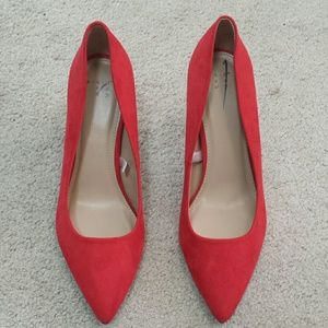 a new day red heels size 9
